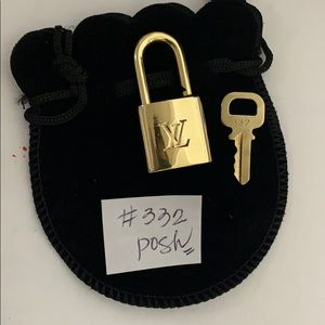 Louis Vuitton Padlock And key #332
